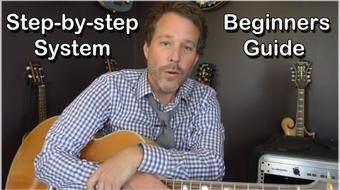 Beginners Guide to Playing Guitar - Step-by-step System course image