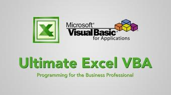 Ultimate Excel VBA course image