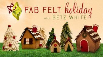 Fab Felt Holiday Crafts course image