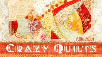 Crazy Quilts course image