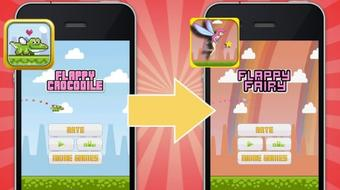 Publish Your Flappy Bird* iPhone Game, EZ & No Coding, iOS9+ course image
