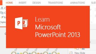 Learn Microsoft PowerPoint 2013 the Easy Way - 9 Hours course image