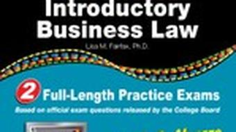 CLEP® Introductory Business Law with CD course image