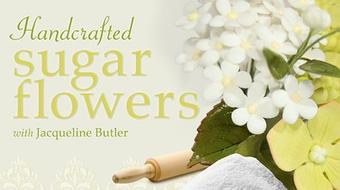 Handcrafted Sugar Flowers course image