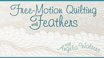 Free-Motion Quilting with Feathers course image