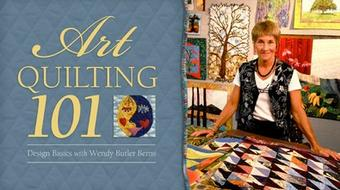 Art Quilting 101: Design Basics course image