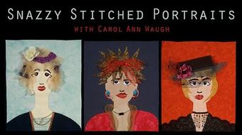 Snazzy Stitched Portraits course image