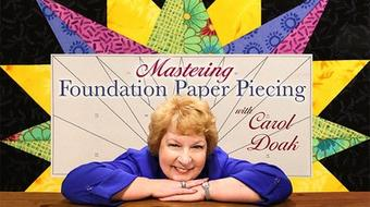 Mastering Foundation Paper Piecing course image
