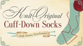 Knit Original Cuff-Down Socks course image