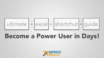 Ultimate Excel Shortcut Guide Become a Power User in Days! course image