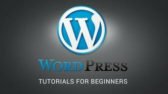 Wordpress tutorials for beginners course image