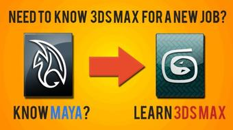 Learning 3ds Max after knowing Maya : Modeling course image