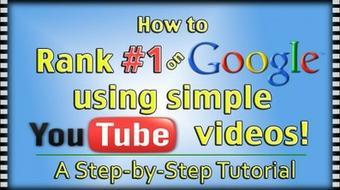 YOUTUBE Pro: Use YouTube Rank #1 on Google OverNight course image