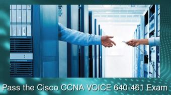 Pass the Cisco CCNA Voice 640-461 exam (ICOMM) Downloadable course image