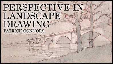 Perspective in Landscape Drawing course image