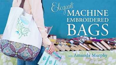 Elegant Machine Embroidered Bags course image