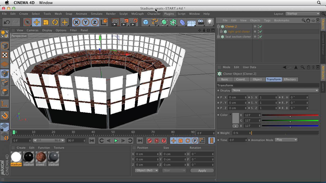 Lynda - CINEMA 4D Essentials 7: MoGraph Modeling and Animation