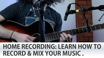 Record & Mix Music like a Pro - Acoustic Guitars and Vocals! course image