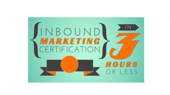Inbound Marketing Certification In 3 Hours Or Less course image