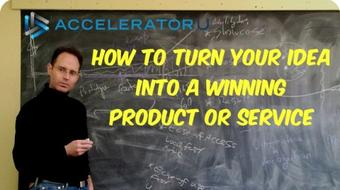 How To Turn Your Idea Into a Winning Product or Service course image