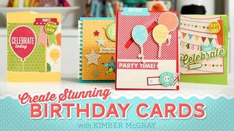 Create Stunning Birthday Cards course image