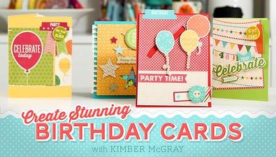 Create Stunning Birthday Cards course image