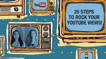 25 Steps to Rock Your YouTube Views course image