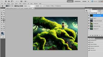 Creating a Digital Painting with Photoshop CS5 course image