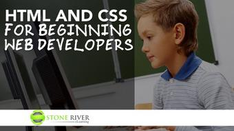 HTML and CSS for Beginning Web Developers course image