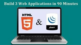 Web Application Development - Learn by Building 3 Web Apps course image