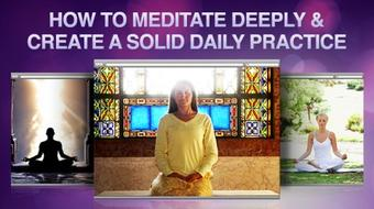 Meditation For Beginners: For Deep Daily Practice course image