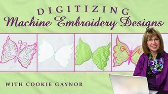 Digitizing Machine Embroidery Designs course image