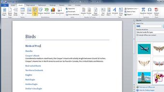 Learning Word 2010 course image