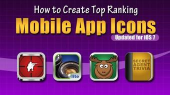 How to Create Top Ranking Mobile App Icons - iOS Edition course image