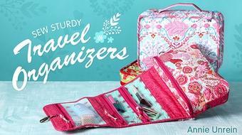 Sew Sturdy Travel Organizers course image
