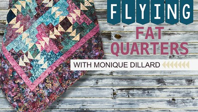 Flying Fat Quarters course image