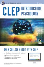CLEP® Introductory Psychology Book + Online course image