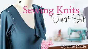 Sewing Knits That Fit course image