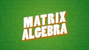 Matrix Algebra course image