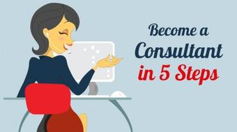 Become a Consultant in 5 Steps course image
