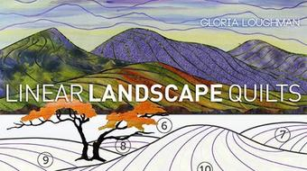 Linear Landscape Quilts course image