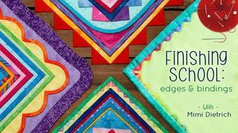 Finishing School: Edges & Bindings course image
