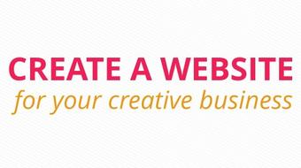 Create a WordPress website for your creative business course image