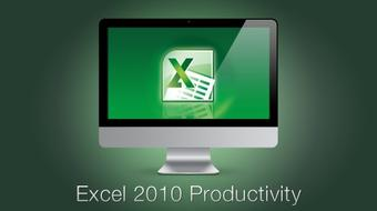 Excel 2010 Productivity course image