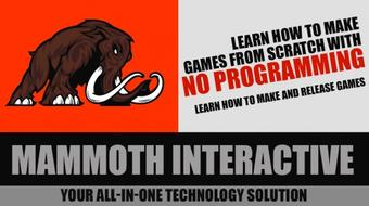 Learn how to make games from scratch with no programming course image