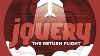 jQuery: The Return Flight course image