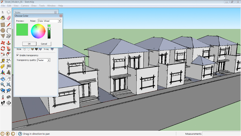 Google SketchUp 8 Essential Training course image