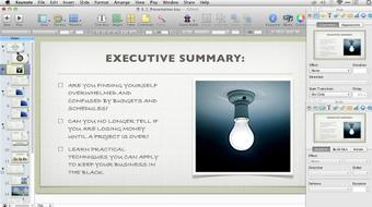 Keynote: From Outline to Presentation course image