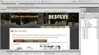 Dreamweaver CS4 with CSS Essential Training course image