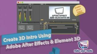 Create 3D Intro Using Adobe After Effects & Element 3D course image